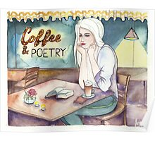 Coffee & Poetry Poster