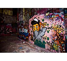 More Graffiti around Melbourne Photographic Print