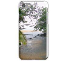 Rain In Bocas Del Toro, Panama iPhone Case/Skin