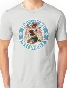 Psychobilly Girl - blue Unisex T-Shirt