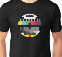 TV Test Card Unisex T-Shirt