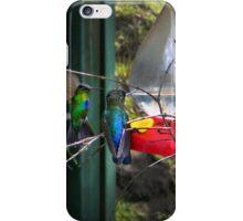 Costa Rican Hummingbirds on Volcan Irazu II iPhone Case/Skin