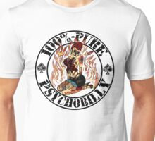 Psychobilly Girl - white Unisex T-Shirt