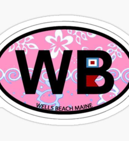 Wells Beach. Sticker
