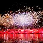 Perth WA Skyworks Australia Day 2015 - The Final Burst ! by Colin  Williams Photography