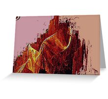 Mountain Of Fire-Available As Art Prints-Mugs,Cases,Duvets,T Shirts,Stickers,etc Greeting Card