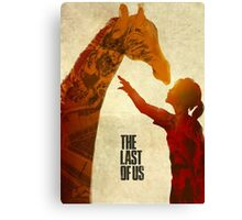 The Last of Us - Ellie and the Giraffe Canvas Print