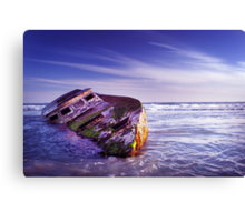 Wrecked. Canvas Print