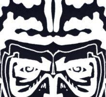 The Striped Man Inverse Sticker