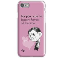 Valentine's  Little Freddie Page iPhone Case/Skin