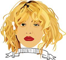 courtney love by hockley