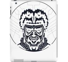 The Striped Man Inverse iPad Case/Skin