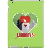 Be my Valentine Ghost! iPad Case/Skin