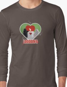 Be my Valentine Ghost! Long Sleeve T-Shirt