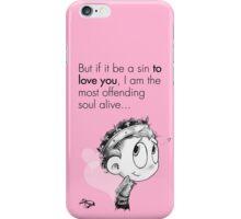 Valentine's  Little Henry V iPhone Case/Skin