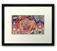 Stained Glass-Available As Art Prints-Mugs,Cases,Duvets,T Shirts,Stickers,etc Framed Print