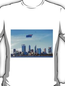 Flying The Flag - Perth WA - Australia Day 2015 - HDR T-Shirt
