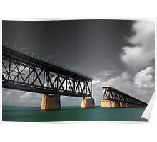 Old Bahia Honda Bridge Poster