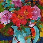 Floral Jug by Mellissa Read-Devine