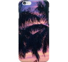 Palm Trees and Sunset iPhone Case/Skin