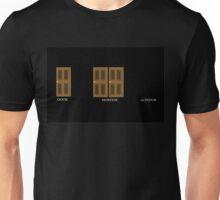 Door, Mordor, Gondor Unisex T-Shirt