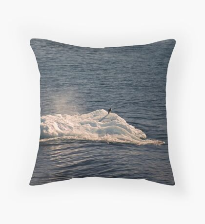 Alone... Throw Pillow