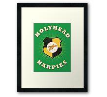 Holyhead Harpies Framed Print