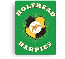 Holyhead Harpies Canvas Print