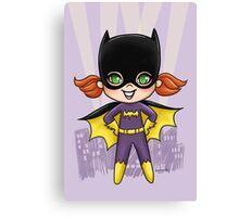 Li'l Batgirl Canvas Print