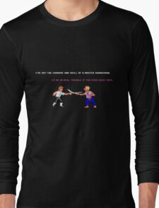 Guybrush - Insult Swordfighting Long Sleeve T-Shirt