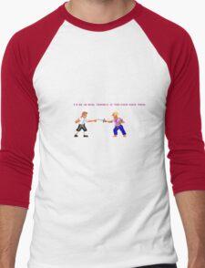 Guybrush - Insult Swordfighting Men's Baseball ¾ T-Shirt