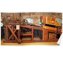 """Kimber"" dynamite packing machine, 1899 Poster"