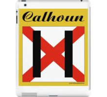 ALABAMA:  11 CALHOUN COUNTY iPad Case/Skin