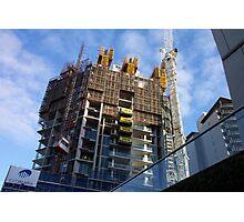 Under construction Photographic Print
