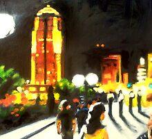A Night Walk by Robert Reeves