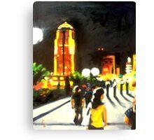 A Night Walk Canvas Print