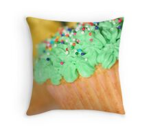 Easter Cupcakes II Throw Pillow