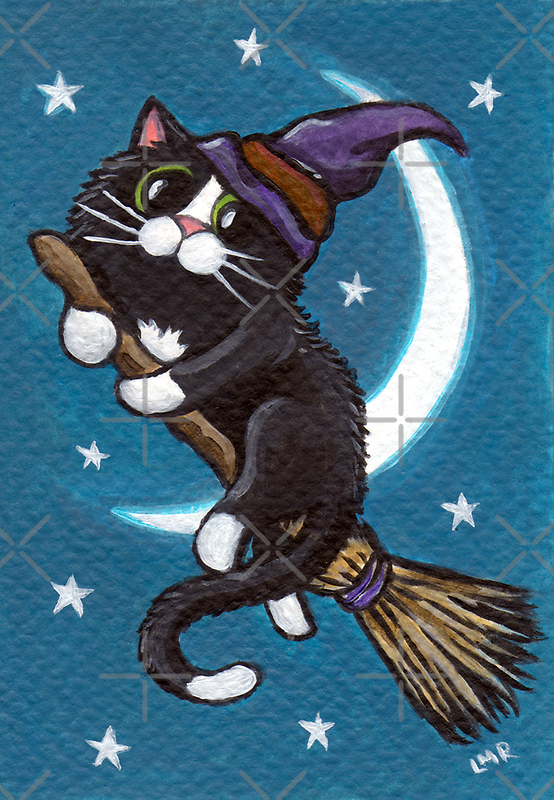 Broomstick Ride by Lisa Marie Robinson