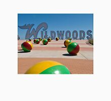 Wildwoods Sign on the Boardwalk in Wildwood, New Jersey Unisex T-Shirt