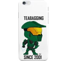 TEABAGGING SINCE 2001 iPhone Case/Skin