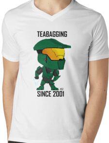TEABAGGING SINCE 2001 Mens V-Neck T-Shirt