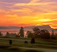 EARLY AUTUMN SUNRISE by Sandy Stewart