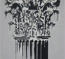 Corinthian Column By Charles Dada by Charles Dada