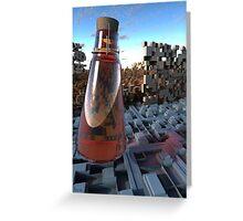 Elixir For The Lifeless Greeting Card