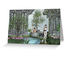 Oriental Dreams Greeting Card