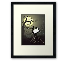 Zombie Hand with Phone Framed Print