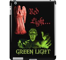 Red Light... GREEN LIGHT iPad Case/Skin