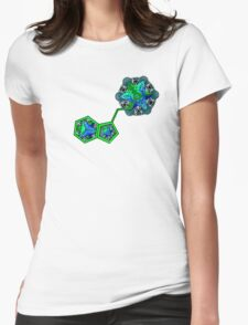 Meta DMT v7 Womens Fitted T-Shirt
