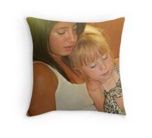 Big Sister/Little Sister Throw Pillow