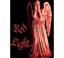 Red Light... just don't blink Photographic Print